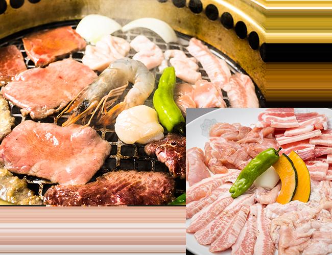 こだわりのお肉とお料理
